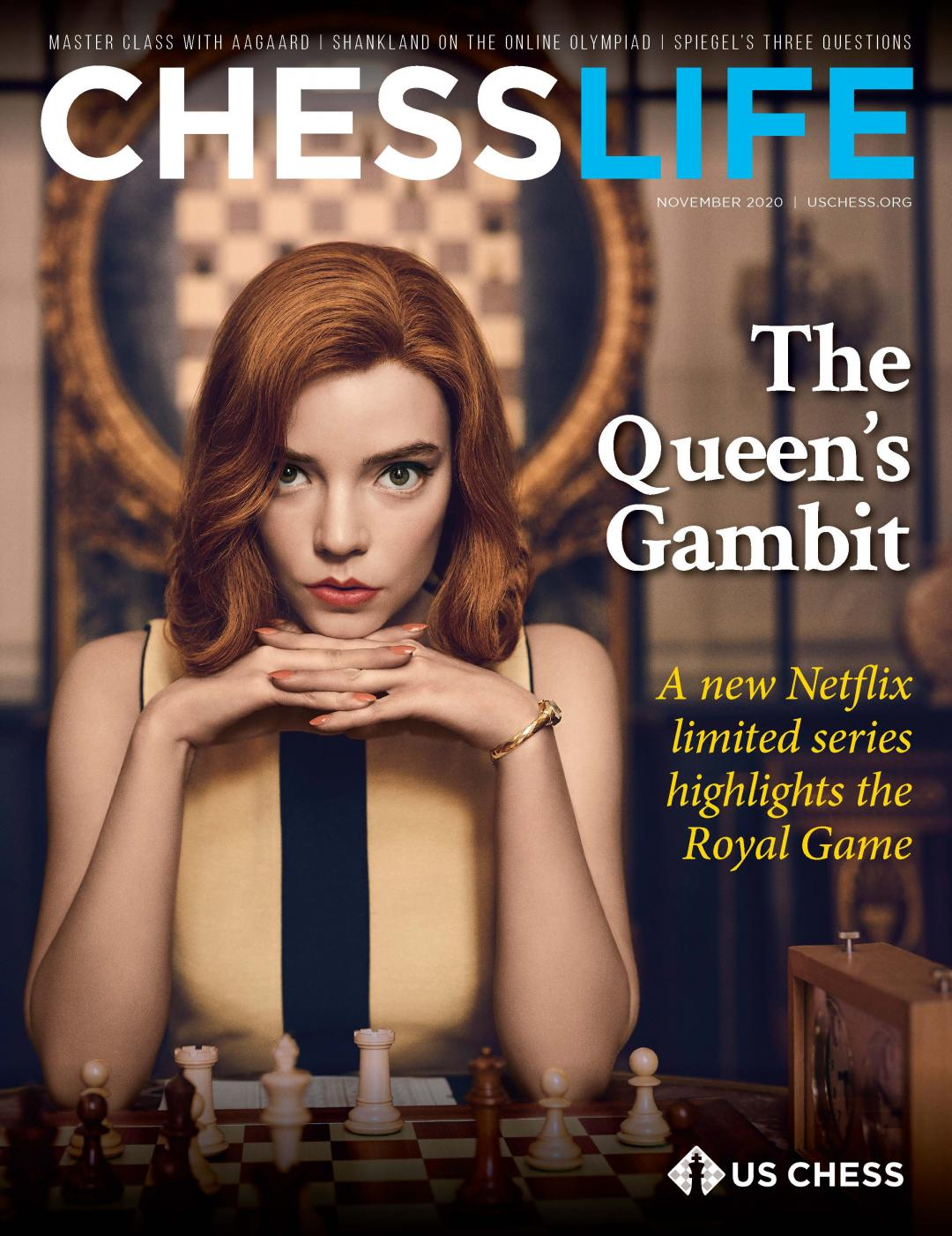 November 2020 cover of Chess Life