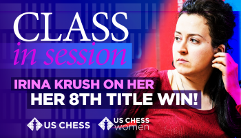 Irina Krush on her 8th Title Win