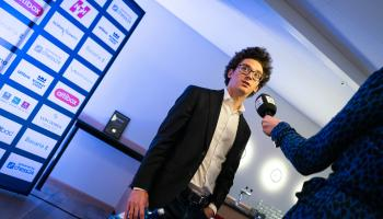 GM Fabiano Caruana at the 2020 Altibox Norway Chess Tournament. // (photo Lennart Ootes / Altibox Norway Chess)
