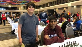 Jonathan Martinez (L) and Prateek Pinisetti (R) (photo Michelle Martinez)