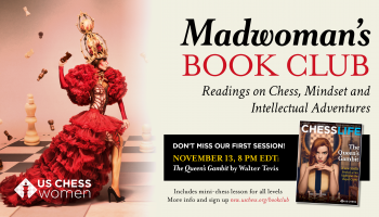 Red Chess Queen, Magazine, Book Club