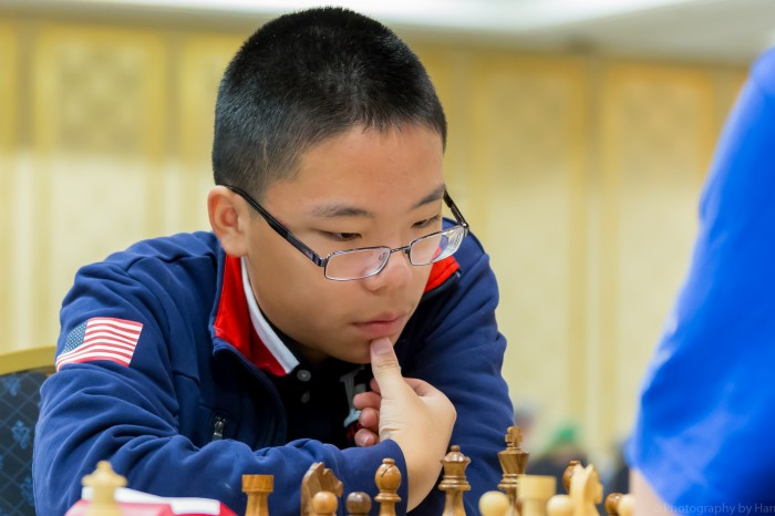 Ruifeng Li at the National Open. Photo: Tim Hanks.